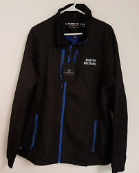 Stormtech Gxj-1 Menand039s Mistral Shell. Embroidered Master Mechanic Front New W/tag