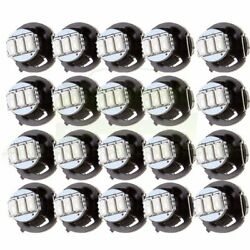 20Pcs Bright Red T4T4.2 Neo Wedge LED Bulb Dash AC Climate Control Light Lamp