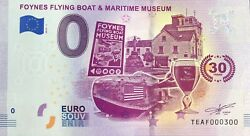 Ticket Foynes Flying Boat And Maritime Museum 2019-1 Number 300