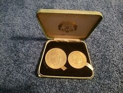 Tonga 2 Coin Set - 1968 - Unc Uncirculated - 1969 Oil Search