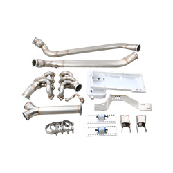 Cxracing Ls1 Engine T56 Trans Mount Header Oil Pan Y Pipe For Bmw E30 Ls
