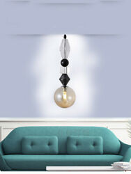 LED Glass Exhibition Hall Lights Chandelier Lamp Kitchen Ceiling Study Fixtures