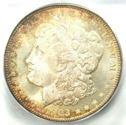 1903-o Morgan Silver Dollar 1 - Certified Icg Ms67 - Rare In Ms67 - 4190 Value