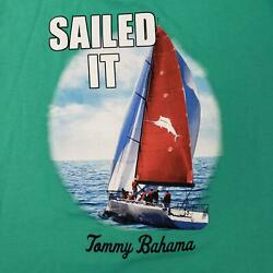 Tommy Bahama Mens Graphic T-Shirt Sailed It Tee New
