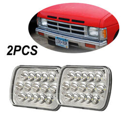 Pair 7x6led Sealed Beam Replacement H6054 H6014 For Nissan Pickup Hardbody D21