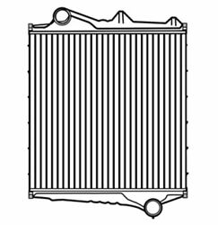 1996-2005 For VOLVO VN VNL VNM Series Charge Air Cooler
