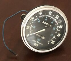 67004-80 Harley-davidson 1981-1990 Fl Speedometer Big Twins Nos Parts
