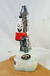 1970 Ezra Brooks Sippin Whiskey Space Rocket Ship Liquor Decanter Fz-8 Foremost
