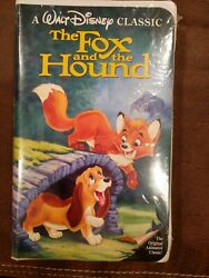 FOX AND THE HOUND VHS BLACK DIAMOND EDITION NEW FACTORY SEALED