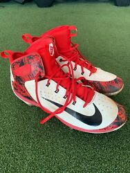 Jordan Hicks St. Louis Player Exclusive Let The Games Begin Game Worn Cleat