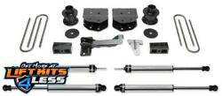 Fabtech K2181dl 4 Budget Lift Kit W/dl Ss Shocks For 05-07 Ford F-250/f-350