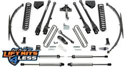 Fabtech K2129dl 8 4 Link Lift Kit W/shocks For 08-16 Ford F-250/f-350/f-450 4wd