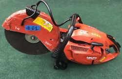 Hilti Dsh 700-x Gas Saw, For Parts Only, Not Working, Fast Ship