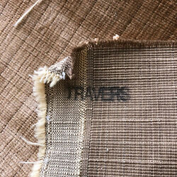 Travers Decorator Velvet Upholstery Pillow Fabric 3+ Yds New Copper Brown Toffee