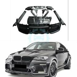 Front Bumper Side Skirt Rear Bumper For BMW X6 E71 Haman 08-13 Resin ufh