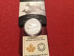 2014 20 The White Tailed Deer - Mates 1oz Silver Coin