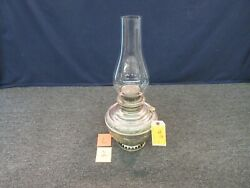 1892 The Miller Lamp Edward Usa Royal Glass Globe Fire Proof Oil Antique