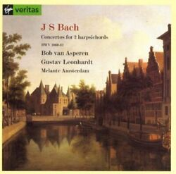 Bach: Concertos For Two Harpsichords - CD - **BRAND NEW/STILL SEALED** - RARE