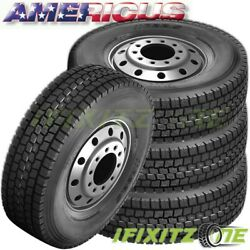 4 Americus OS3000 285/75R24.5 144/141L G/14 All Season Commercial Tires