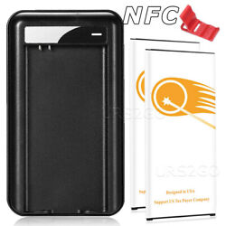 Urs2go 6820mah Nfc Battery Charger For Samsung Galaxy S5 I9600 Sm-g900a/v/p/t/r4