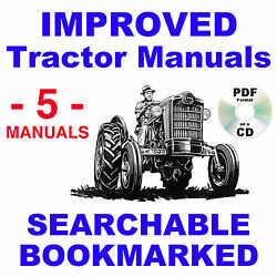 Ford 621 631 641 651 661 Tractor Service Parts Catalog Owners Manual -5- Manuals