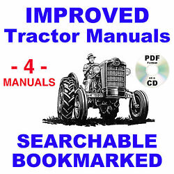 Ford 850 860 Tractor Service, Parts Catalog, Owners Manual -4- Manuals 1954-1957