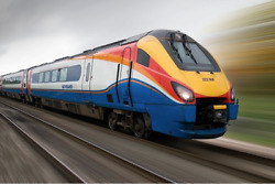 Class 222 009 In East Midlands Trains Livery - 15 X 10 Artwork Print