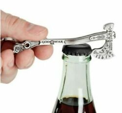 God Of War Leviathan Axe Bottle Opener Keychain 4 Diecast Official Sony Keyring