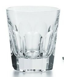 Baccarat Harcourt double old fashion glass tumbler $185.00