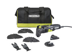 Rockwell Oscillating Tool F30 Multi-tool With 32 Accessories And Carry Bag