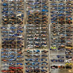HW Race Team - Mega Collection 200+cars - All Years - Hotwheels -Loose- Mint
