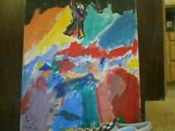 Abstract Painting Rare World Of Colors By Hayden Trystan