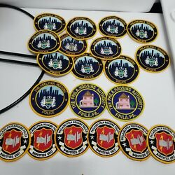 20 Philadelphia Police Housing Authority Patches Patch Lot Narcotics Vintage