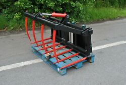 Mini Grab For Compact Tractors + Skid Steers - Swl 700kg - Free Postage