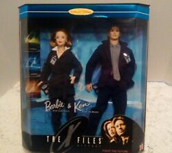 The X-files Barbie And Ken Doll - Collector Edition Mulder And Scully Nib