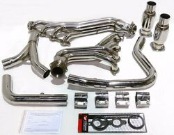 Obx Exhaust Long Tube Header Fits 98 99 Camaro Firebird Ls1 5.7l F-body Catted
