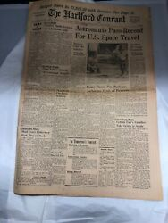 Hartford Courant Newspaper June 5 1965 Connecticut Astronaut Space Travel Cover