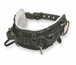 Miller By Honeywell 36 To 46 Linemenand039s Body Belt With 2 Anchor Points 95n/d22br