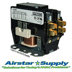 Goodman Replacement Contactor - 1 Pole • 40 Amp • 24v Coil - Compressor / Motor
