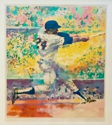 LeRoy Neiman Limited Edition Framed Signed Serigraph,