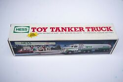 1990andnbsphess Toy Tanker Truck Vintage Brand New With Original Box