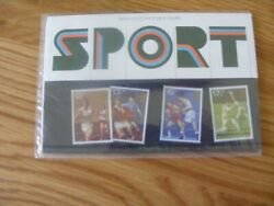 BRITISH POST OFFICE SET OF MINT STAMPS SPORT ISSUED 10th OCTOBER 1980 (1)