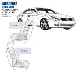 Mercedes Cls Front Seat Cover Set 2006-11 Oem New