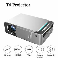 T6 Hd Android Portable Led Projector 1280x720 Native Resolution 1080p Hd Video