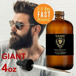 4oz Caveman™ Beard Taming Men Mustache Barber Grooming Style Growth Oil 9 Scent