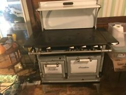 Antique Gas Vulcan Smooth Top Kitchen Stove