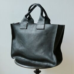 Alice Noon Leather Tote 20quot; x 14quot; x 5quot; Excellent condition near mint $365.00
