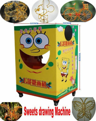 Digital Sugar Candy Sweets Syrup Painting Drawing Machine Music Self-promote Sn