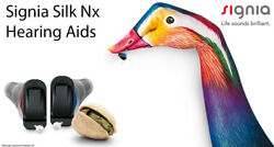 2 Set Of Brand New 2021 Signia Silk Nx5 Instant Fit Cic Hearing Aids Landr