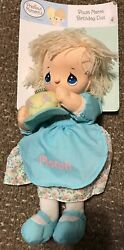 Precious Moments March Soft Plush Doll Birthday 12 Sweet Cake Blonde Toy